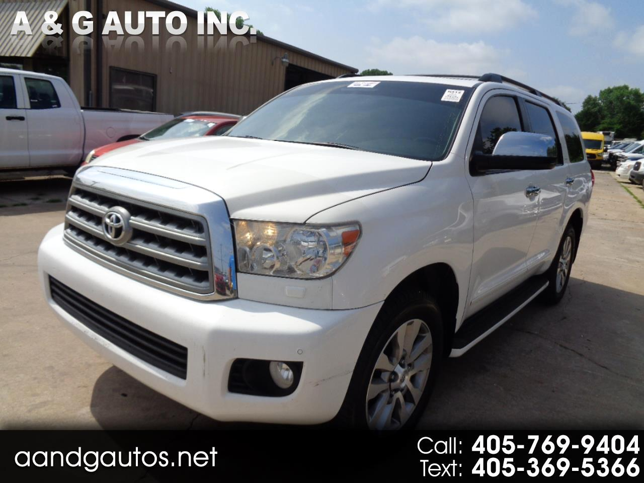 Toyota Sequoia Limited 4WD FFV 2011