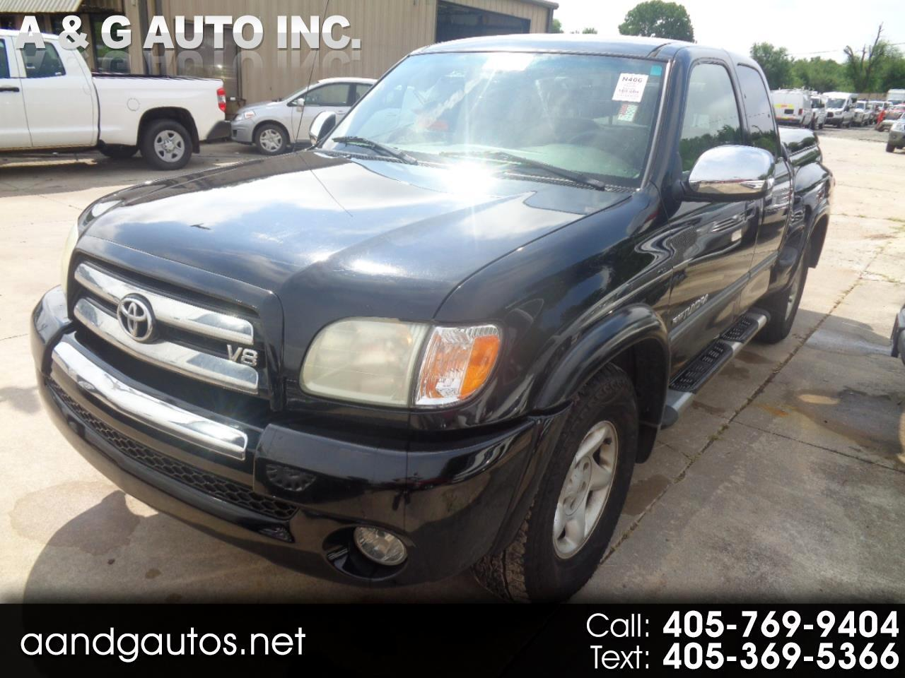 2003 Toyota Tundra SR5 Stepside Access Cab 2WD