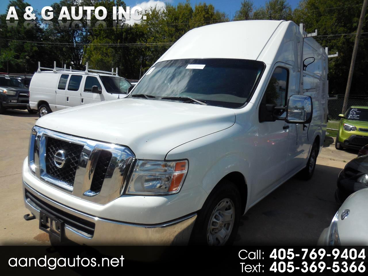 Nissan NV Cargo 3500 HD S High Roof 2013