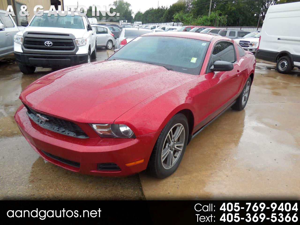 Ford Mustang V6 Coupe 2012
