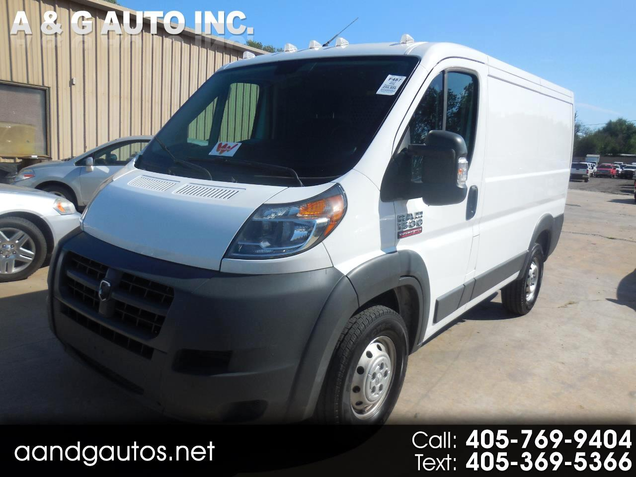 RAM Promaster 1500 Low Roof Tradesman 118-in. WB 2017