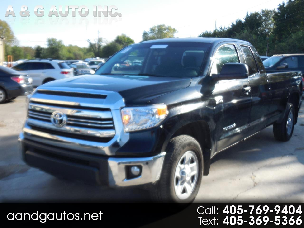 Toyota Tundra SR5 5.7L V8 FFV Double Cab 4WD Long Bed 2017