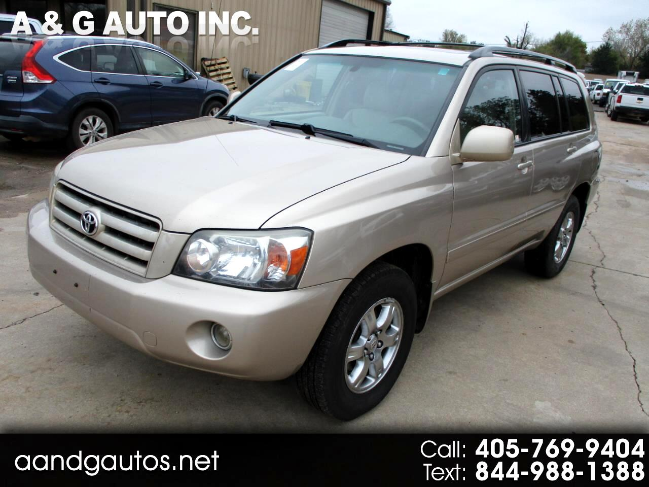 Toyota Highlander Limited V6 4WD 2007