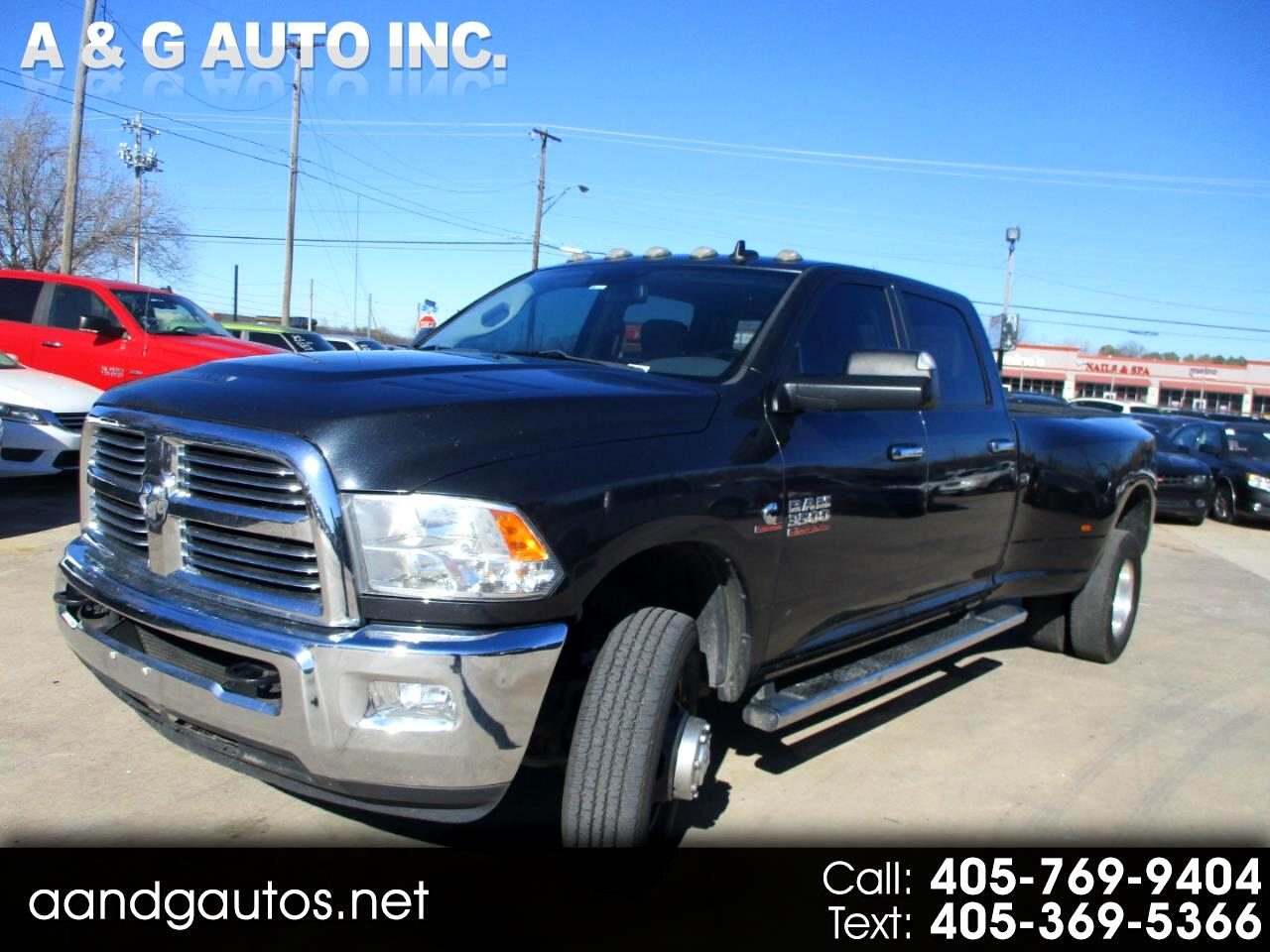 Dodge Ram 3500 SLT Quad Cab Long Bed 4WD DRW 2014