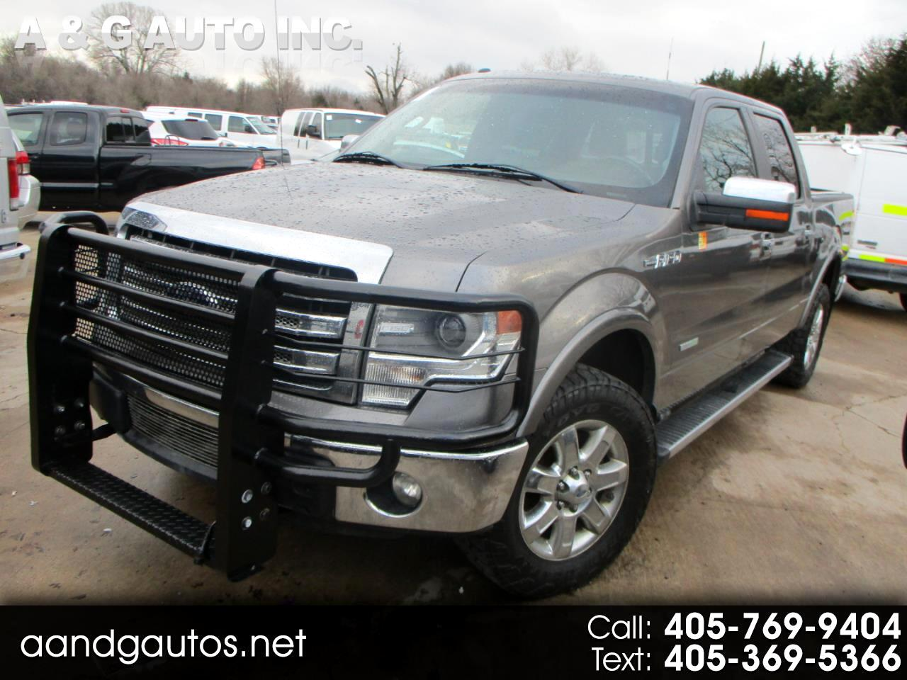 Ford F-150 Lariat SuperCab 6.5-ft. 4WD 2013
