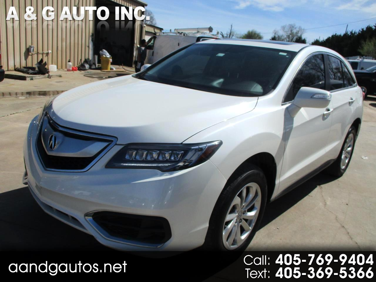 Acura RDX 6-Spd AT w/ Technology Package 2017