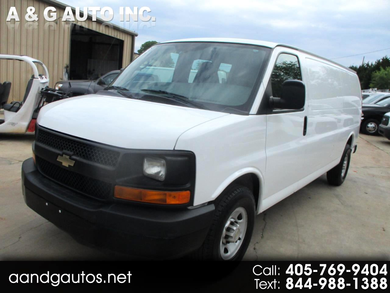 Chevrolet Express 3500 Cargo Extended 2014