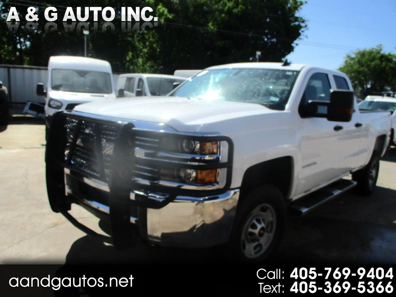 Chevrolet Silverado 2500HD Work Truck Double Cab Long Box 4WD 2017