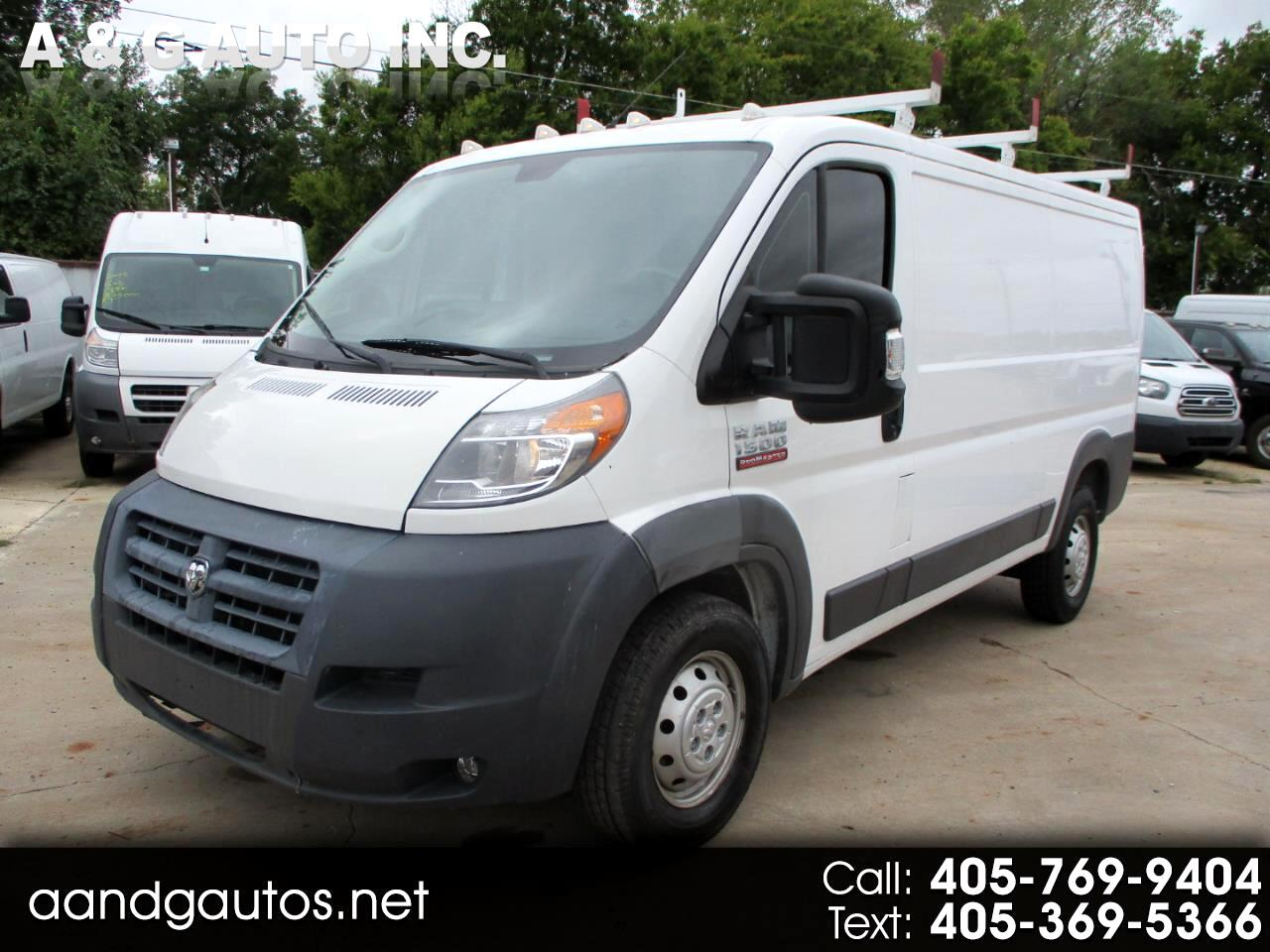 RAM Promaster 1500 Low Roof Tradesman 136-in. WB 2018