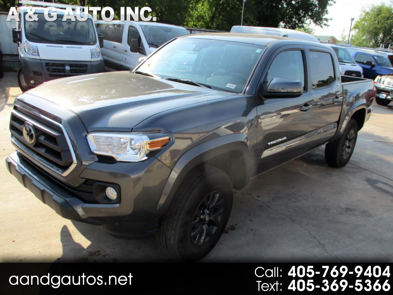 Toyota Tacoma SR5 Double Cab Long Bed V6 6AT 2WD 2020