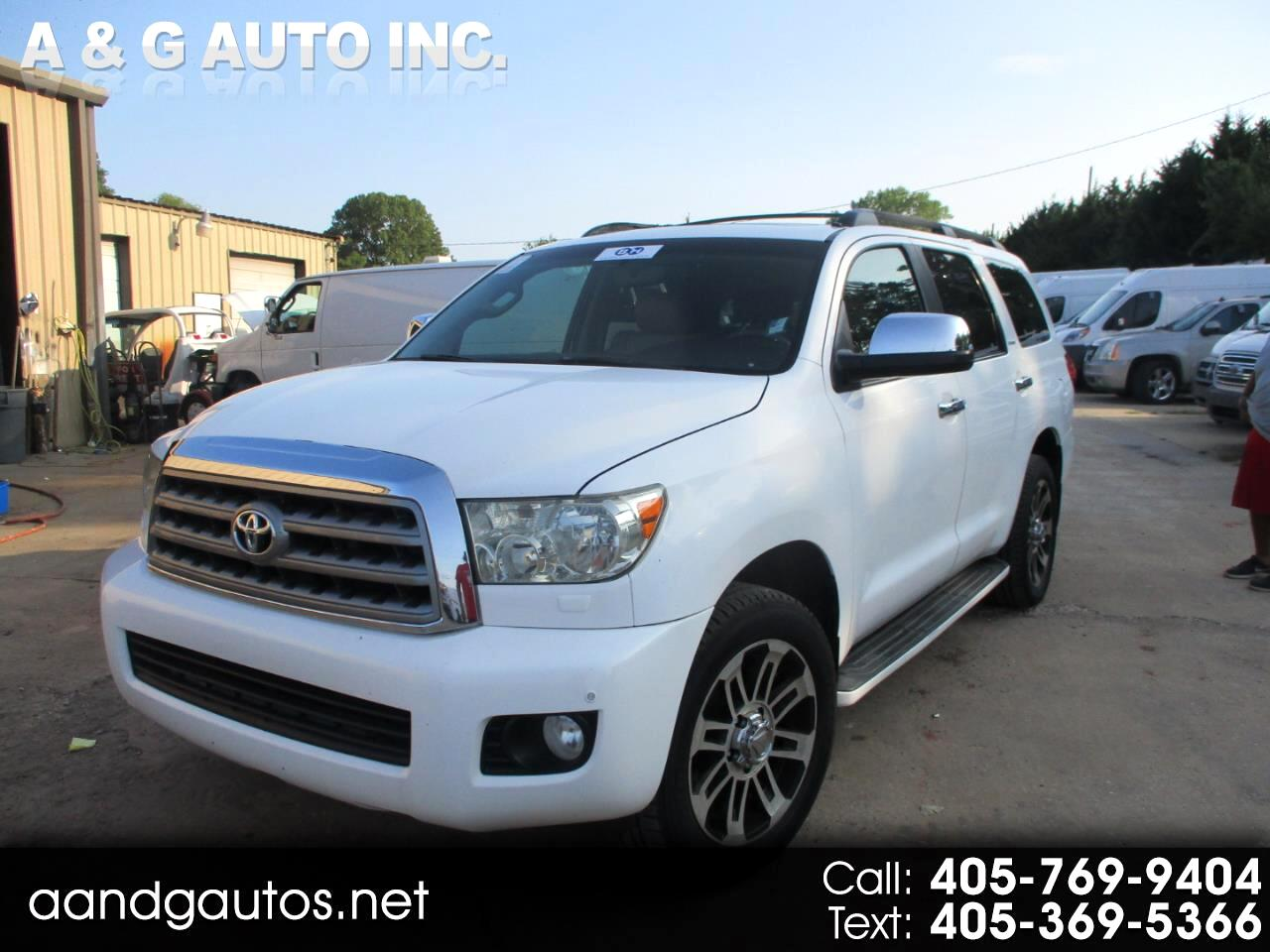 Toyota Sequoia Limited 4WD 2008