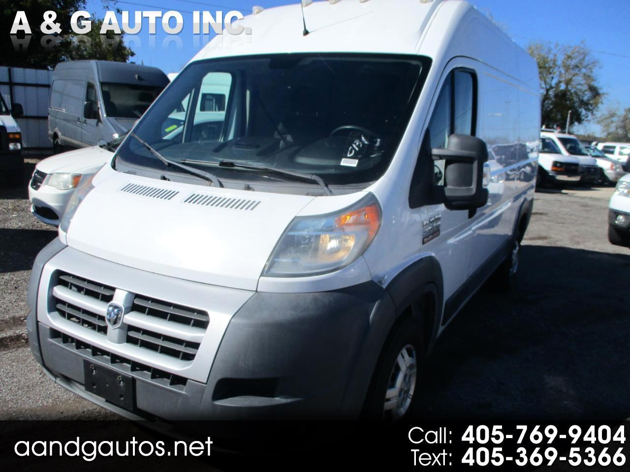 RAM Promaster 2500 High Roof Tradesman 136-in. WB 2014