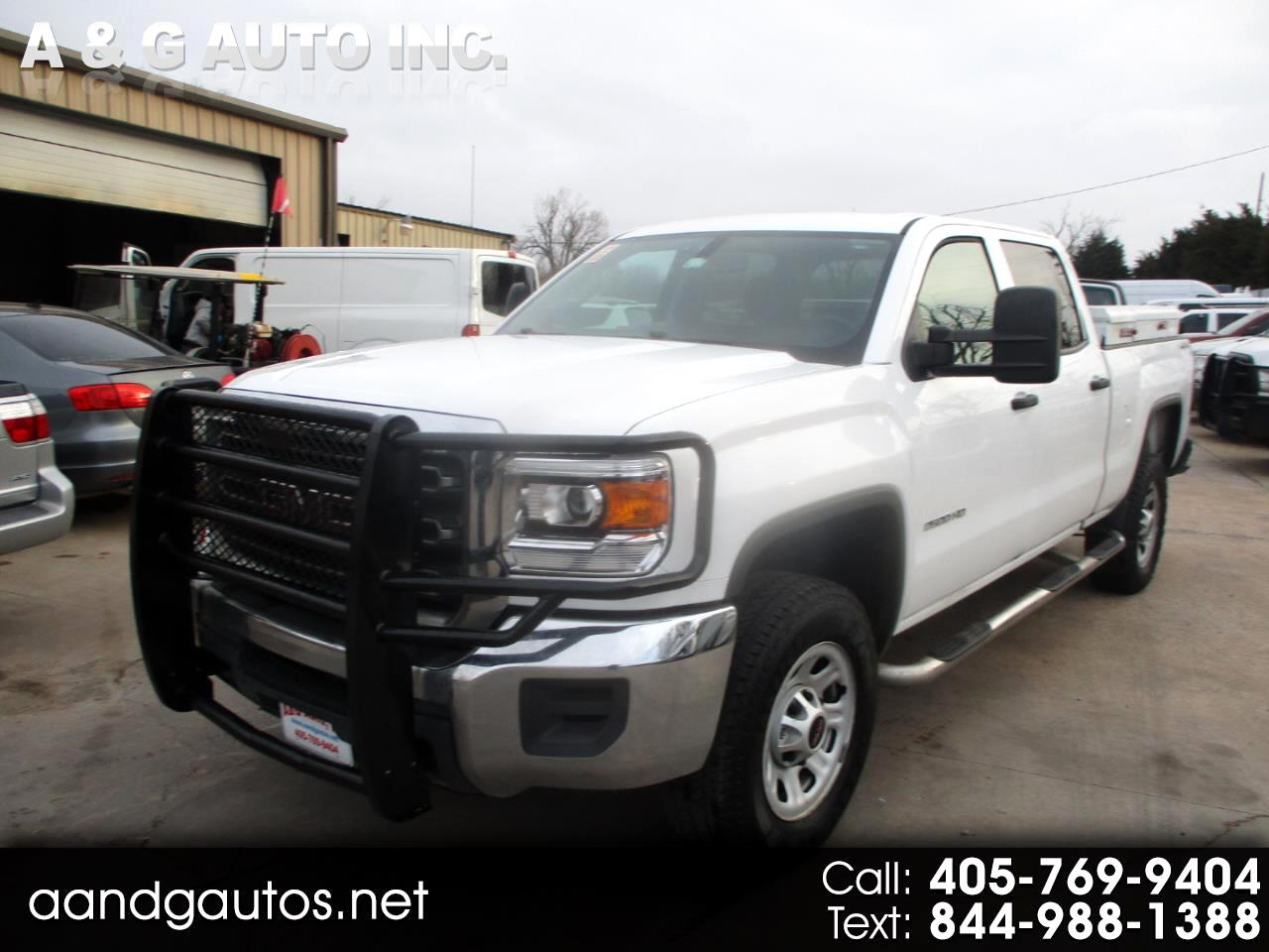 GMC Sierra 2500HD Base Crew Cab 4WD 2015