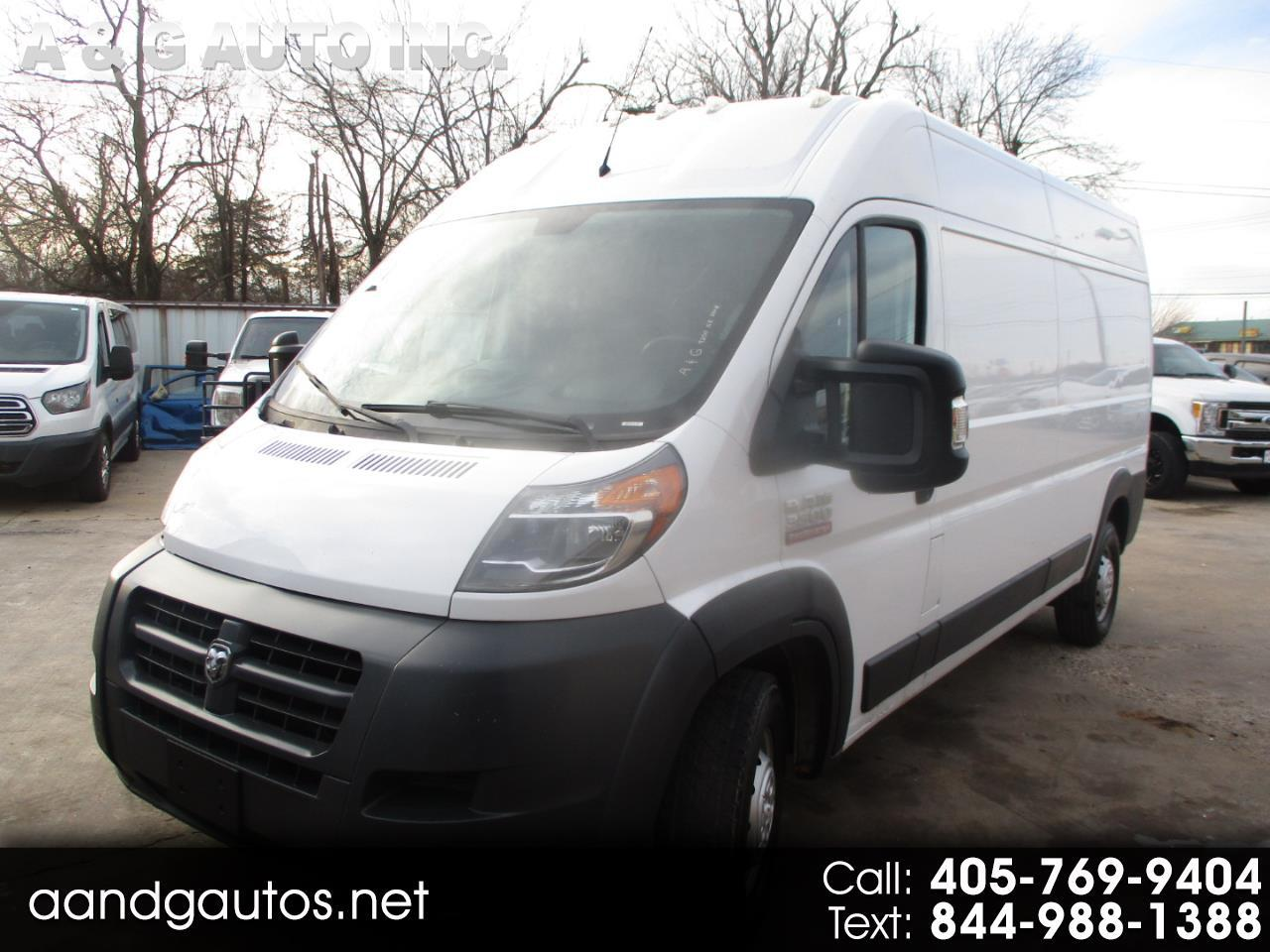 RAM Promaster 3500 High Roof Tradesman 159-in. WB 2017