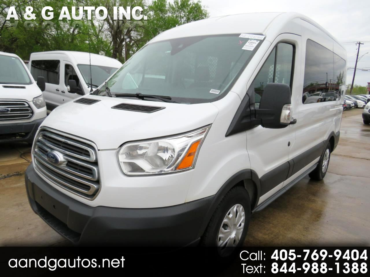 Ford Transit 150 Wagon Med. Roof XL w/Sliding Pass. 130-in. WB 2015