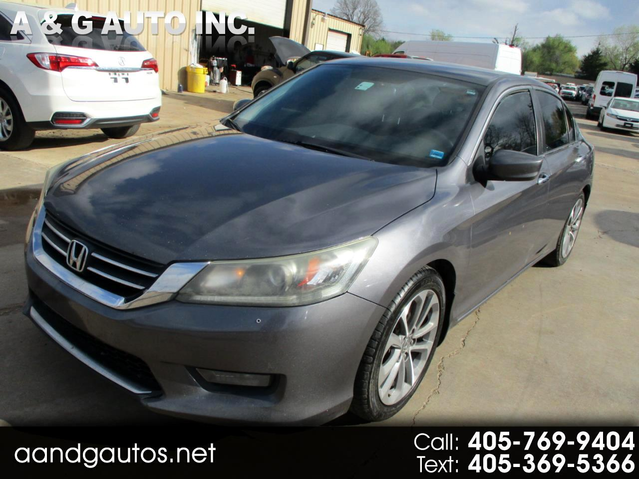 Honda Accord Sport Sedan 6-Spd MT 2014