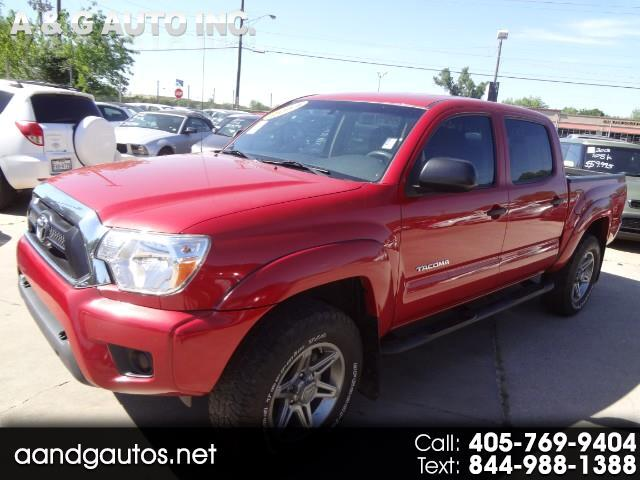 Toyota Tacoma PreRunner Double Cab I4 4AT 2WD 2014