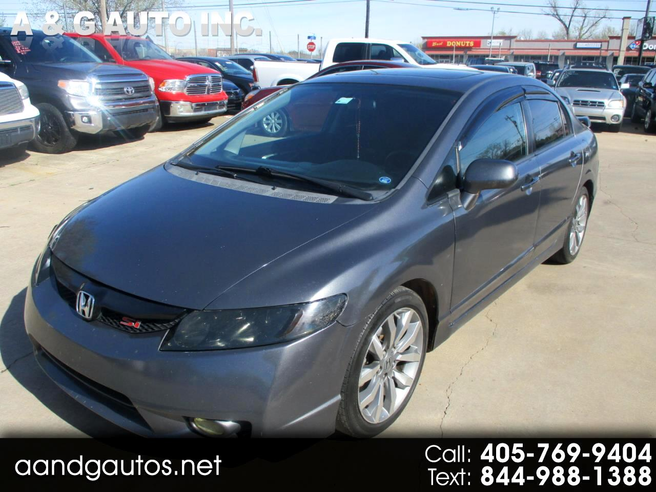 Honda Civic Si Sedan 6-Speed MT 2009
