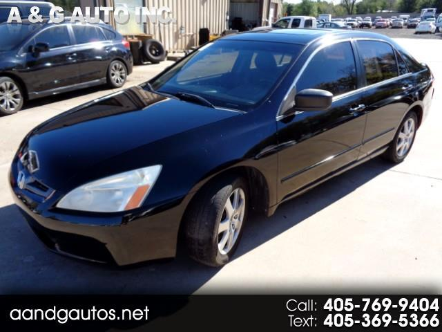 2005 Honda Accord EX Sedan with Leather