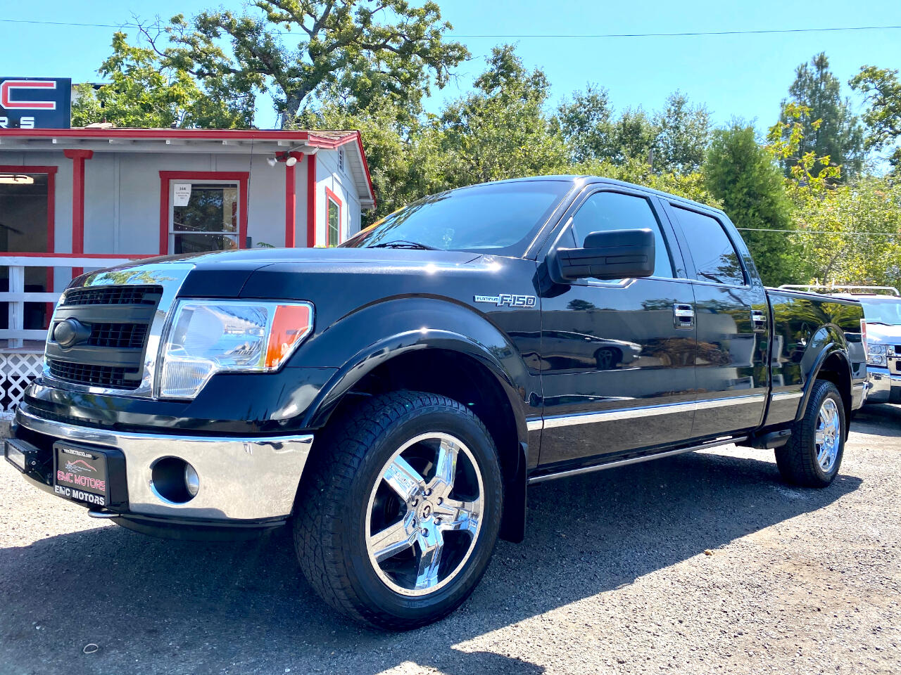 "Ford F-150 4WD SuperCrew 145"" Platinum 2010"