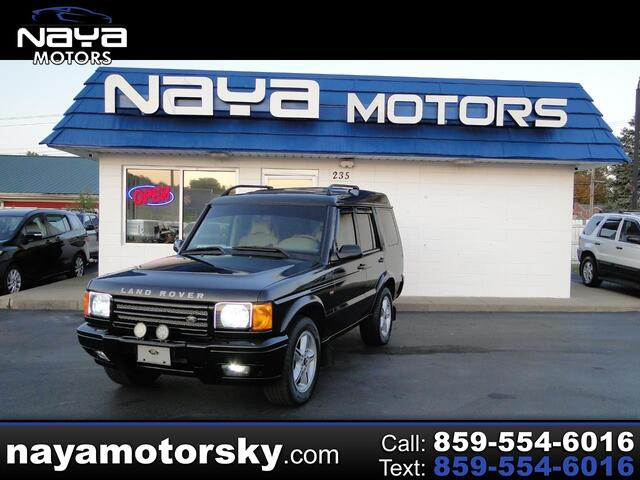 2000 Land Rover Discovery Series II 4 Dr STD AWD SUV