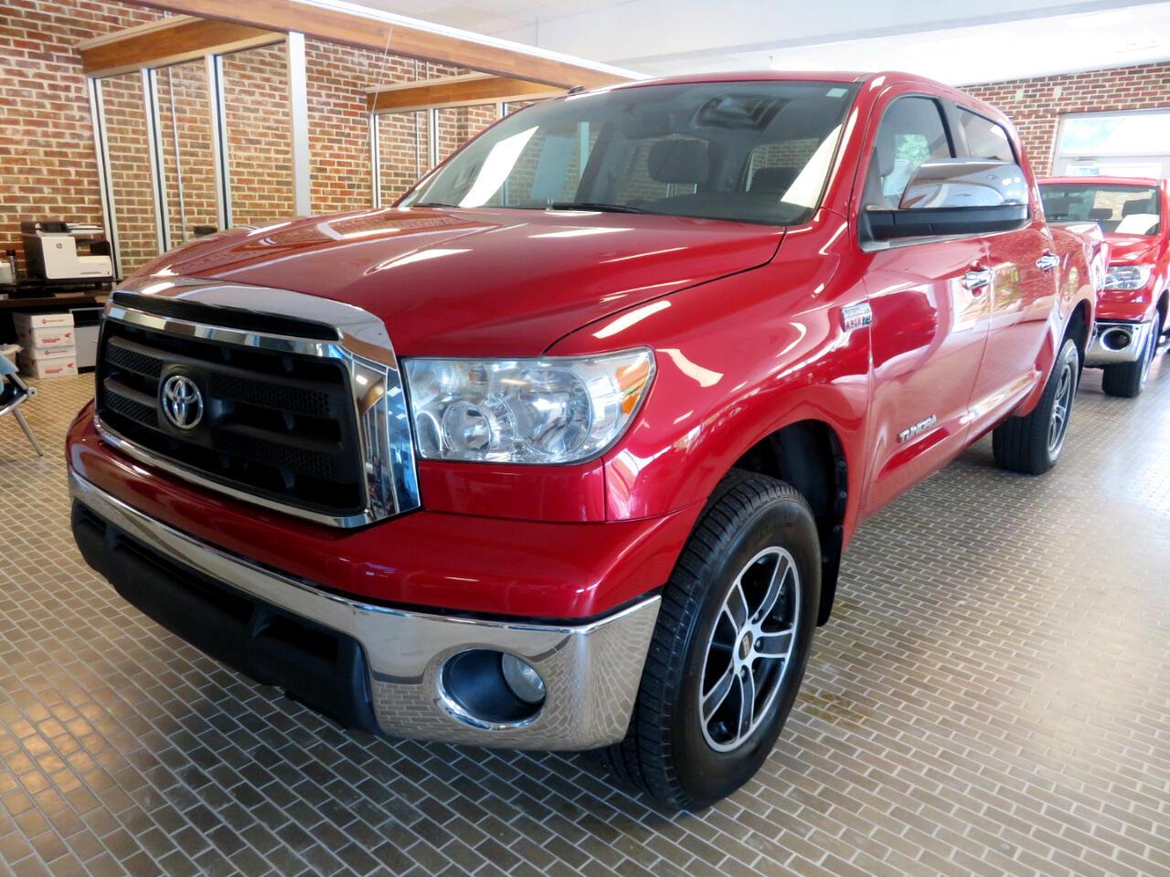 Toyota Tundra 4WD Truck CrewMax 5.7L FFV V8 6-Spd AT SR5 (Natl) 2012