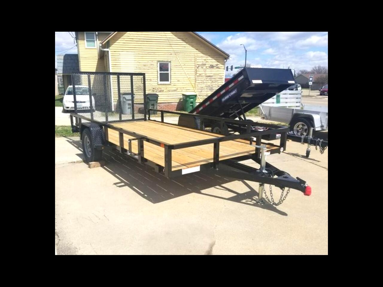 Sure-Trac Tube Top Utility Trailer  2021