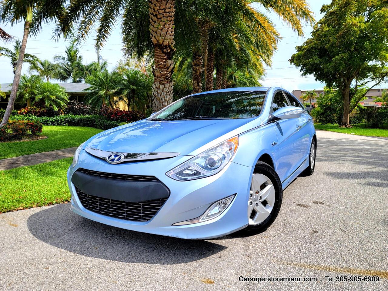 Hyundai Sonata Hybrid Sedan 2011