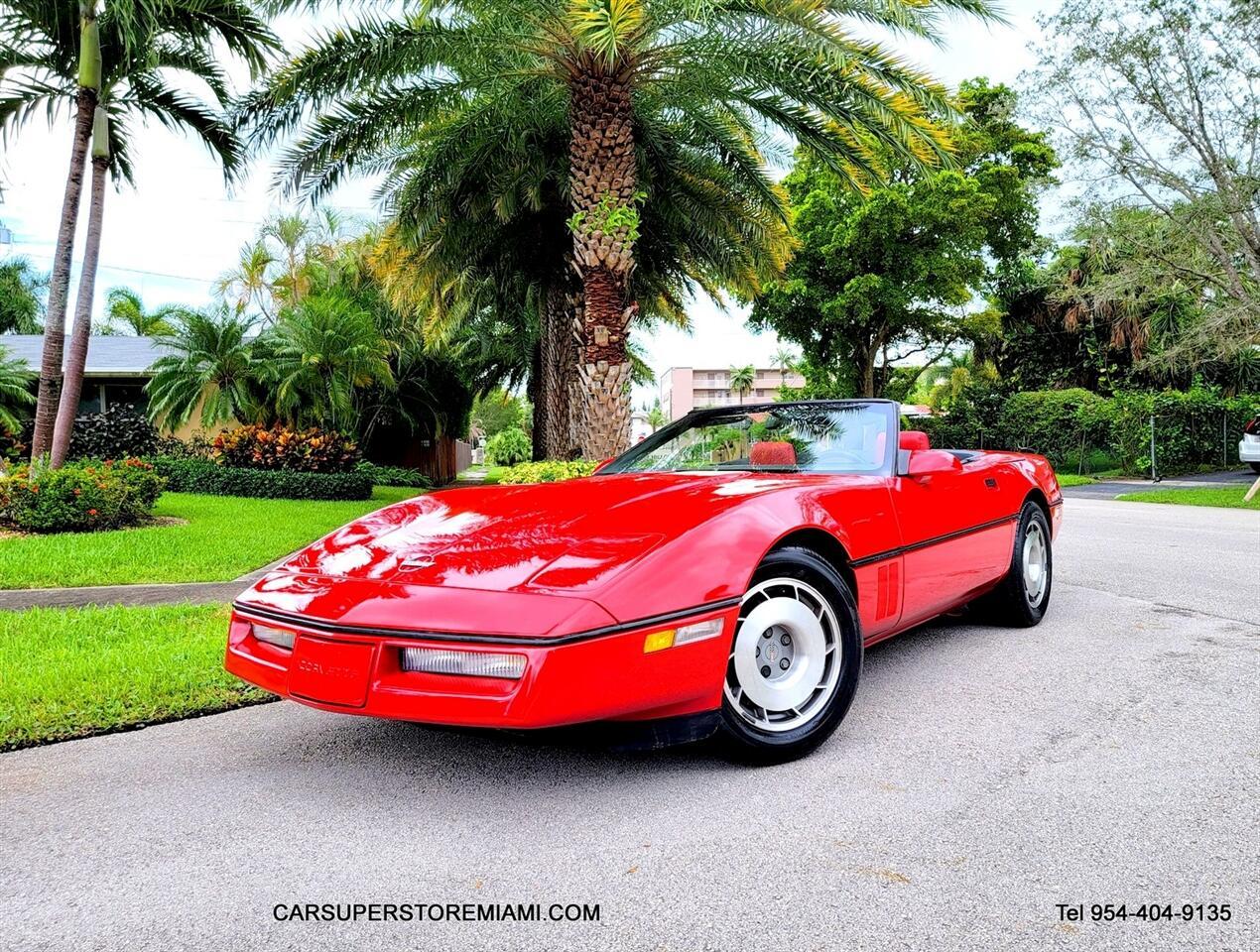 1987 Chevrolet Corvette none