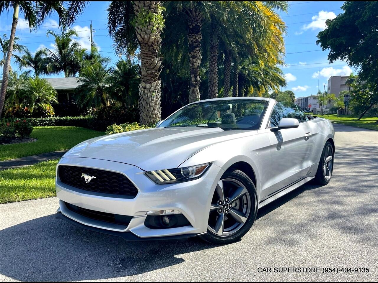 2016 Ford Mustang V6 Convertible 2D
