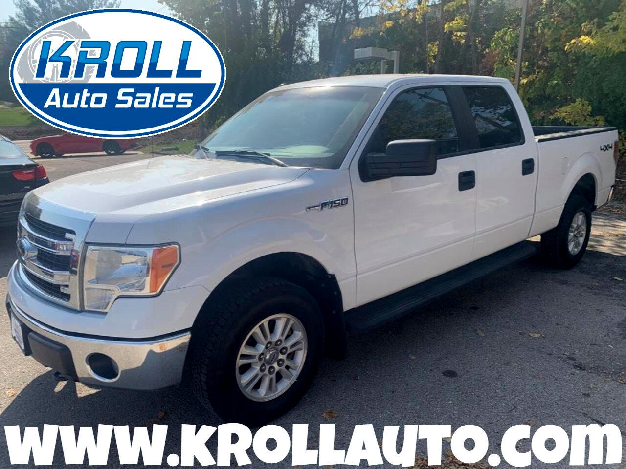 "Ford F-150 4WD SuperCrew 157"" XL w/HD Payload Pkg 2014"