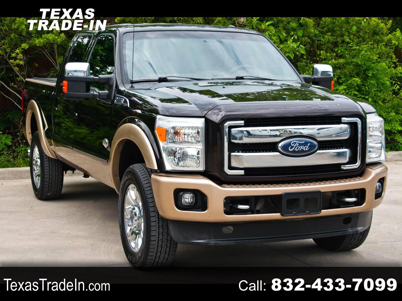 Ford F-350 SD King Ranch Crew Cab 4WD 2013