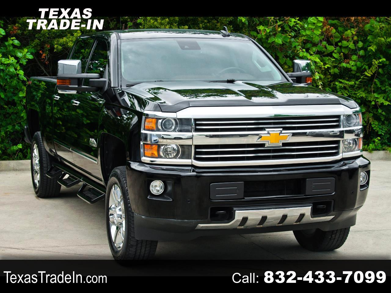 """Chevrolet Silverado 2500HD Built After Aug 14 4WD Crew Cab 153.7"""" High Country 2016"""