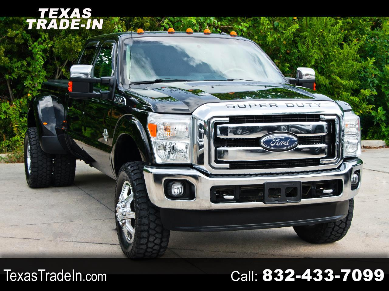 Ford F-350 SD Lariat Crew Cab Long Bed DRW 4WD 2013