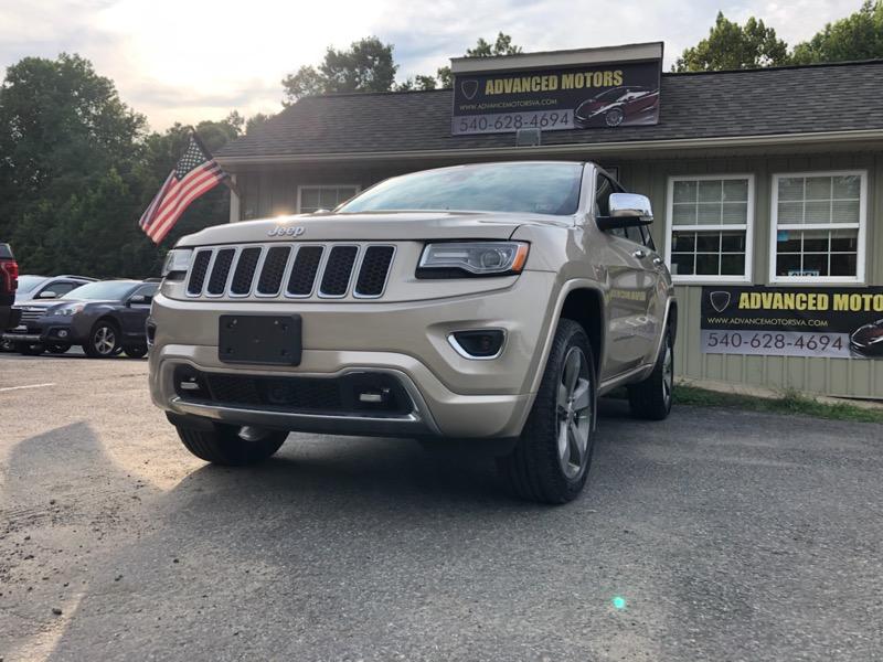 Jeep Grand Cherokee Overland 4WD 2015