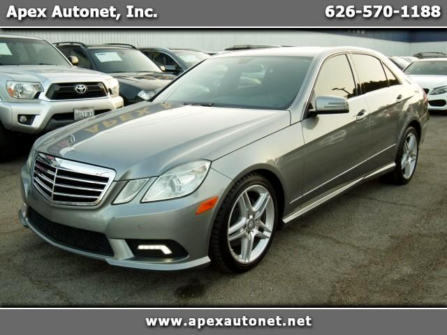 2011 Mercedes-Benz E-Class E350 Sport Sedan