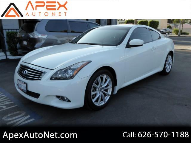2013 Infiniti G Coupe 2dr Journey RWD
