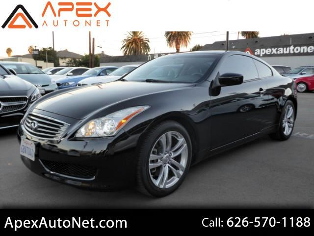 2009 Infiniti G Coupe 2dr Journey RWD