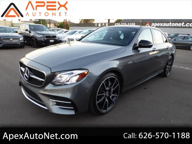 2018 Mercedes-Benz E-Class AMG E 43 4MATIC Sedan