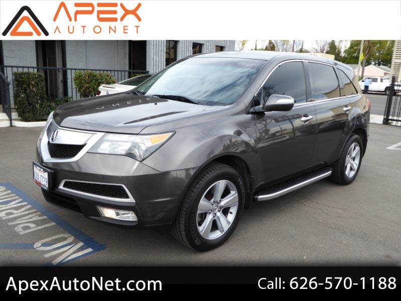 2012 Acura MDX AWD 4dr Tech Pkg