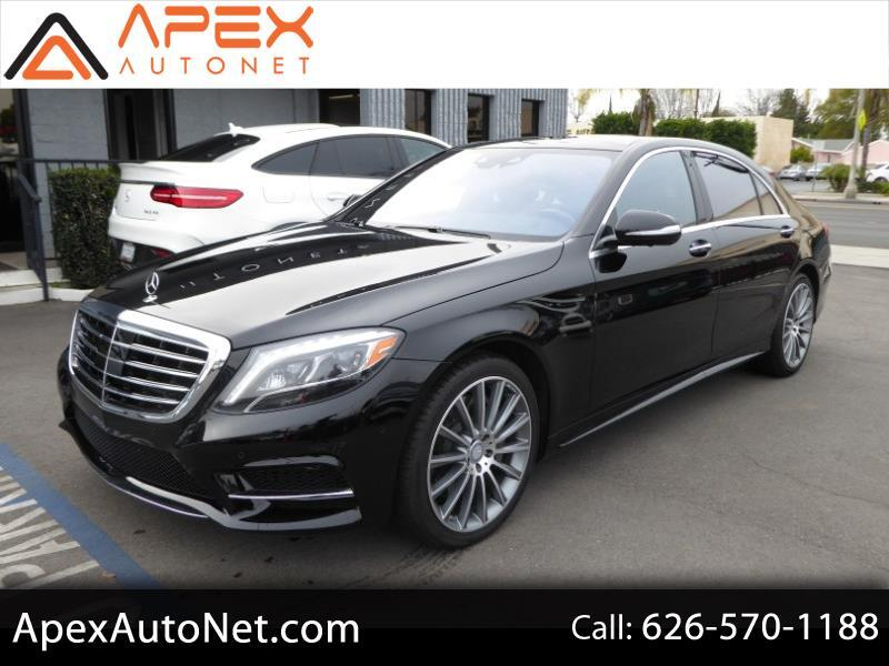 2016 Mercedes-Benz S-Class 4dr Sdn S 550 RWD