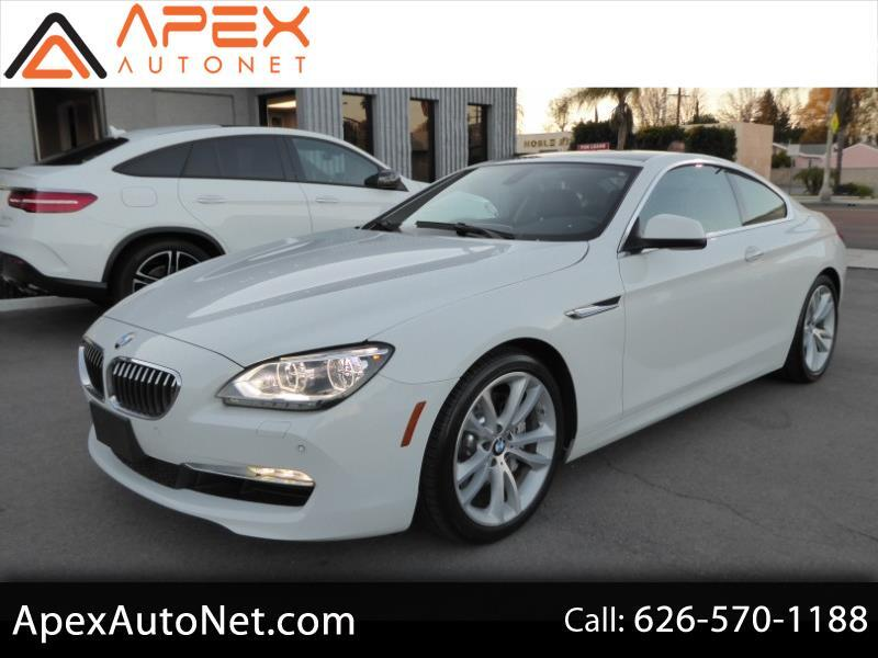 2012 BMW 6 Series 2dr Cpe 640i