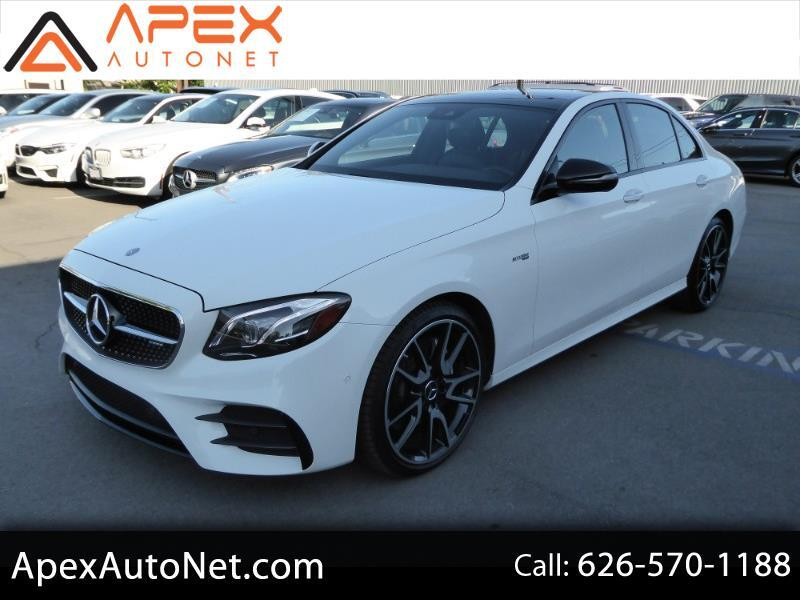 2017 Mercedes-Benz E-Class AMG E 43 4MATIC Sedan