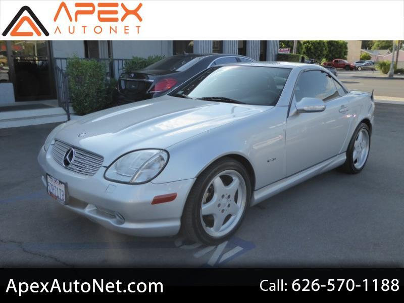 2001 Mercedes-Benz SLK-Class 2dr Kompressor Roadster 2.3L