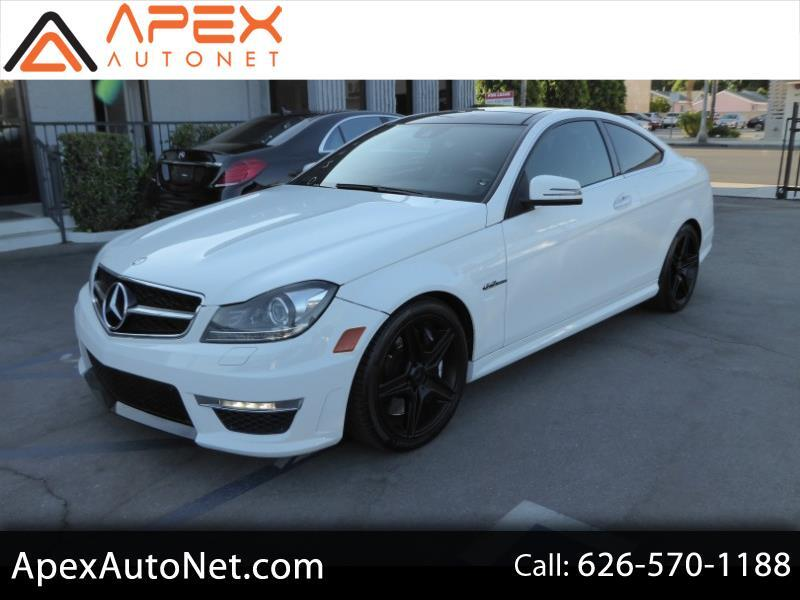 2013 Mercedes-Benz C-Class 2dr Cpe C 63 AMG RWD