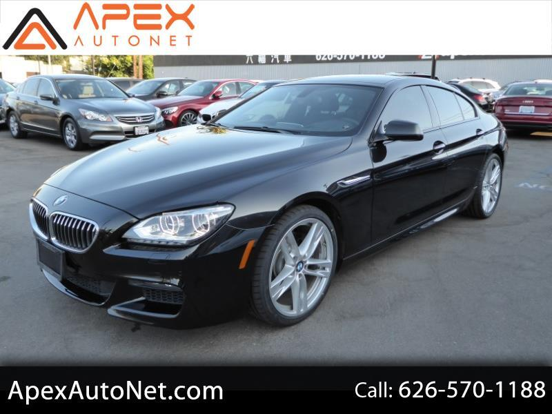 2014 BMW 6 Series 4dr Sdn 640i RWD Gran Coupe