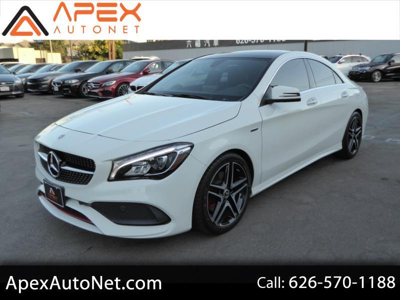 2018 Mercedes-Benz CLA CLA 250 Coupe