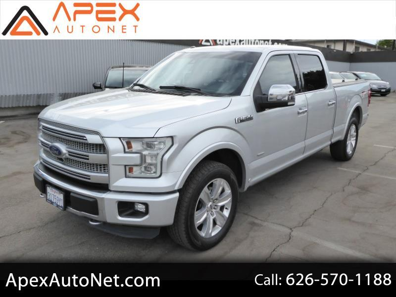 "Ford F-150 4WD SuperCrew 157"" Platinum 2015"