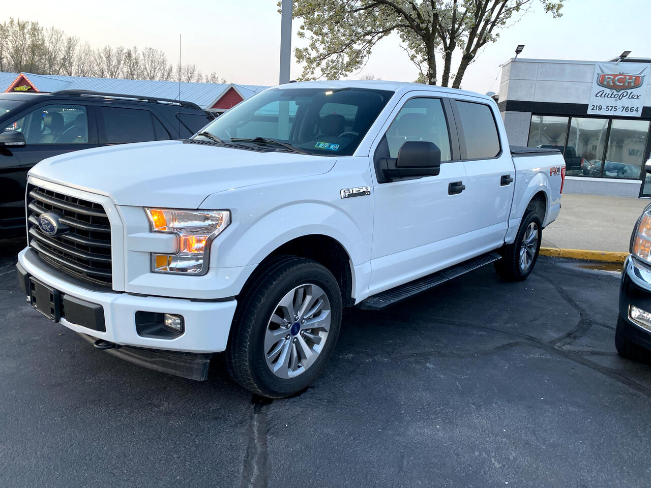 """Ford F-150 4WD SuperCrew 139"""" FX4 2017"""