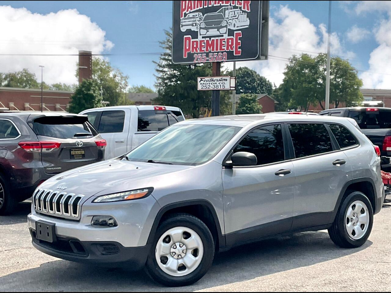 Jeep Cherokee 4WD 4dr Sport 2014